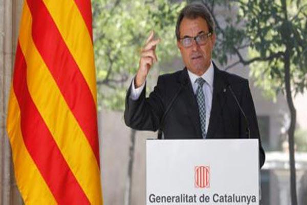 رئيس حكومة كتالونيا أرتور ماس