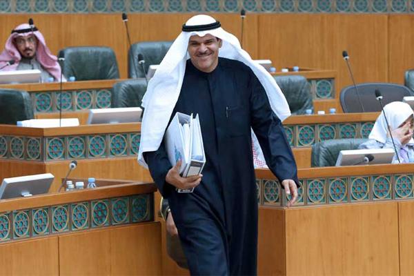 وزير الإعلام وزير الدولة لشؤون الشباب المستقيل الشيخ سلمان الحمود