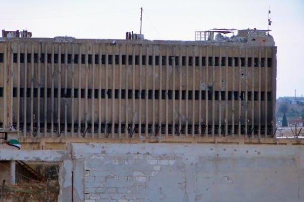 سجن صيدنايا الواقع قرب دمشق