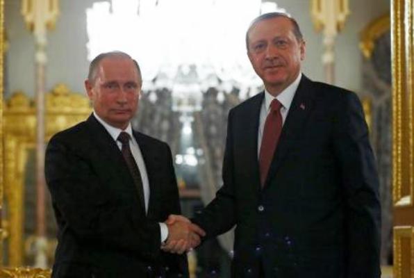 لقاء سابق بين بوتين واردوغان في اسطنبول