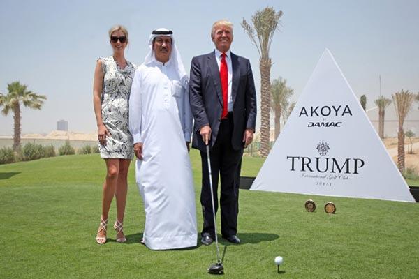 وقع مشروع نادي الغولف قبل انتخاب ترامب