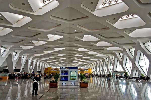 مطار المنارة بمراكش رابع أجمل مطار في العالم