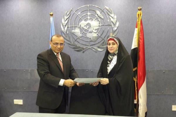 ماجدة التميمي تقدم شكوى رسمية الى الأمم المتحدة ضد المفوضية العليا للانتخابات