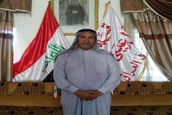 الشيخ نعمة هادي العيساوي الذي قتل في ايران