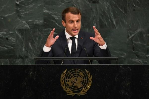 ماكرون وغوتيريش يبديان قلقا عميقا إزاء الوضع في سوريا