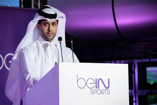 ناصر الخليفي، رئيس شبكة قنوات beIN SPORTS