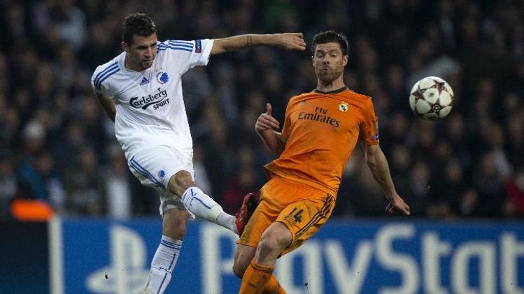تشابي ألونسو ركيزة أساسية في وسط ريال مدريد