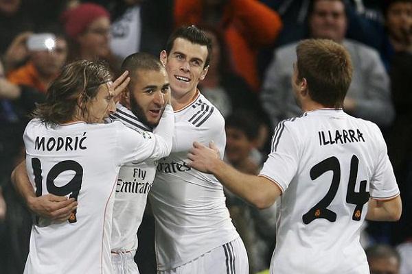 فوز متأخر لريال مدريد على سلتا فيغو