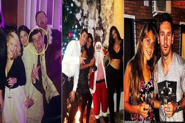 بالصور.. نجوم العالم يحتفلون بعام 2014