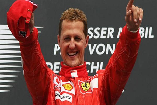 اسطورة سباقات فورمولا واحد الالماني ميكايل شوماخر