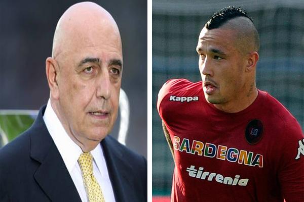 الإيطالي ادريانو غالياني نائب رئيس ميلان الإيطالي أكد انسحاب ناديه من صفقة ناينجولان