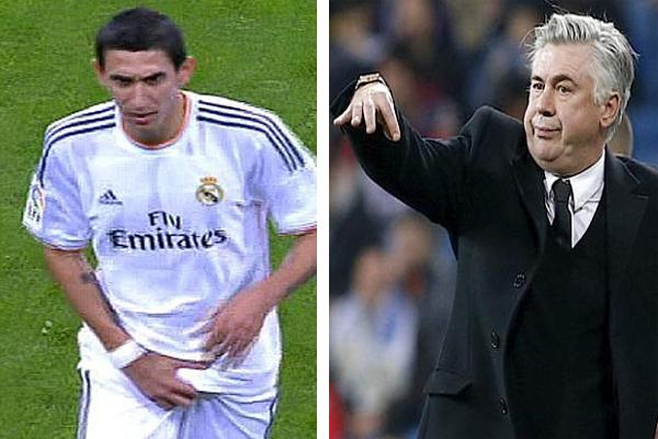 الإيطالي كارلو أنشيلوتي يطالب بعدم القسوة على اللاعب