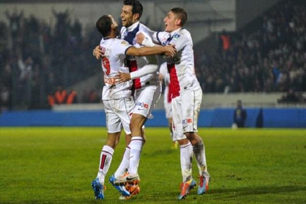 باريس سان جرمان إلى نصف نهائي كأس رابطة الأندية الفرنسية