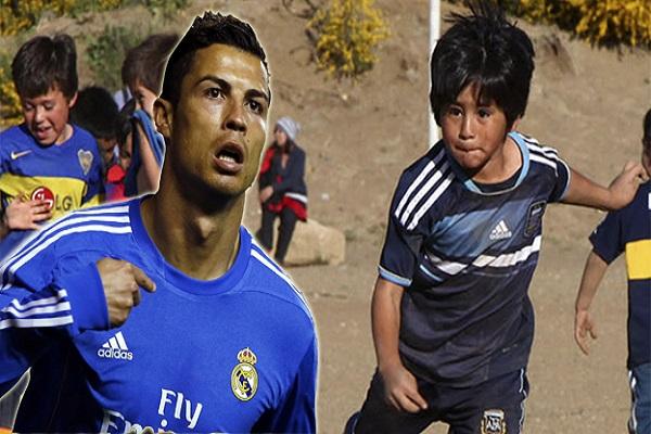 ميسي الجديد يصدم برشلونة ويؤكد: كريستيانو رونالدو مثلي الأعلى