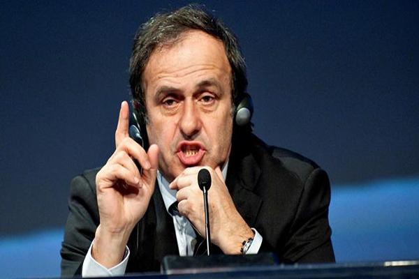 الفرنسي ميشال بلاتيني رئيس الاتحاد الأوروبي لكرة القدم