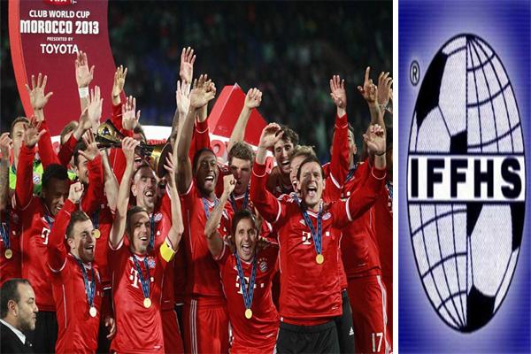 بايرن ميونخ الألماني أفضل الأندية في العالم لعام 2013