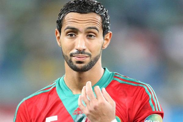 المدافع الدولي المغربي مهدي بن عطية