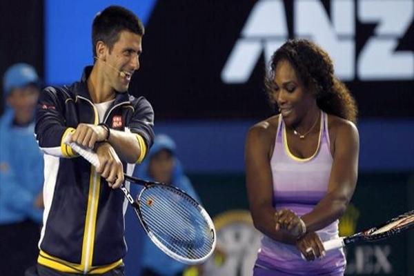 ديوكوفيتش وسيرينا يرغبان بحفر اسميهما بحروف من ذهب في تاريخ بطولة استراليا المفتوحة