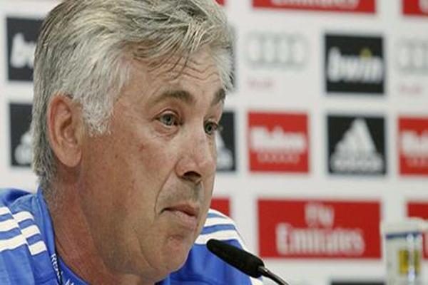 المدرب الإيطالي كارلو أنشيلوتي مدرب ريال مدريد الإسباني