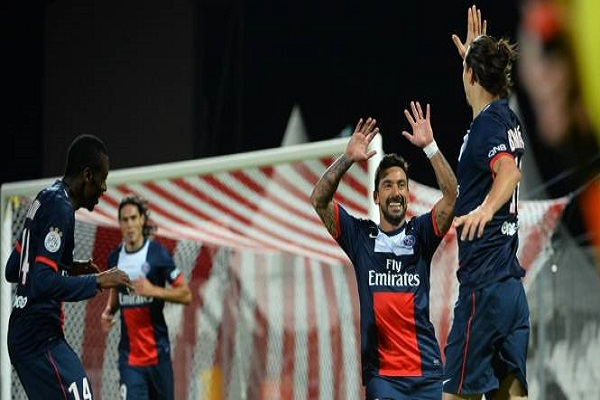 باريس سان جرمان يبتعد 5 نقاط في الصدارة