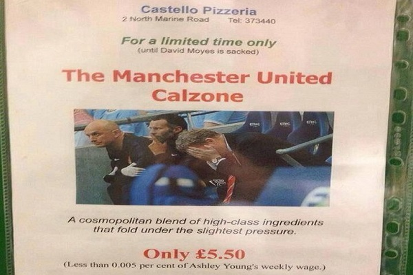 الصورة التي وضعها المطعم للنوع الجديد من البيتزا