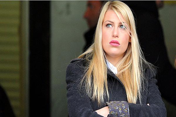الإيطالية باربرا بيرلسكوني أبنة سيلفيو بيرلسكوني رئيس نادي ميلان الإيطالي