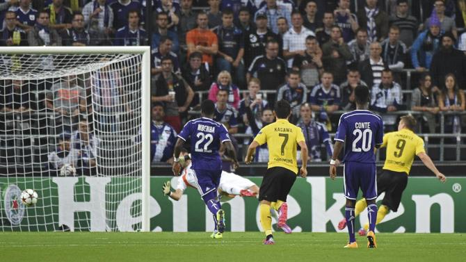 دورتموند يعود بفوز ثمين من فريق أندرلخت البلجيكي