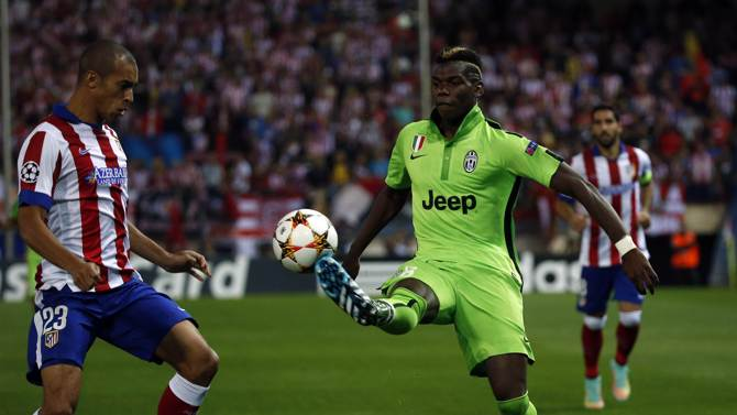 من مباراة أتلتيكو مدريد ويوفنتوس