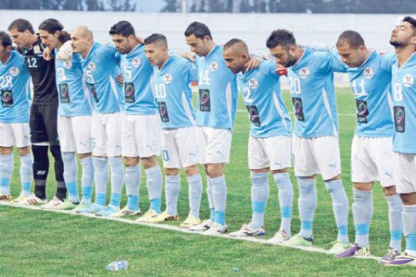 لاعبو الفيصلي الأردني