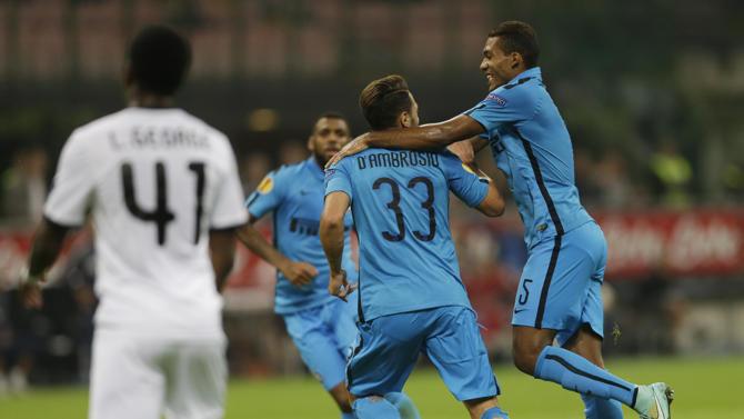 إنتر ميلان يبحث عن الفوز الثالث في الدوري الأوروبي
