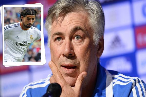 أنشيلوتي يكشف استعداد ريال مدريد لتجديد عقد سامي خضيرة