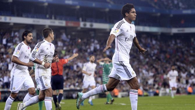 فاران قاد ريال مدريد لفوز كبير على كورنيا في ذهاب دور الـ32