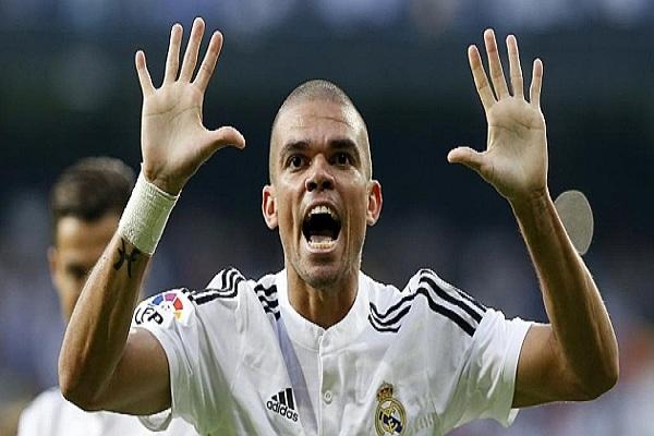 بيبي مدافع ريال مدريد العنيف أنظف مدافع في الليغا