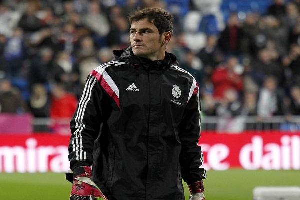 الإسباني إيكر كاسياس حارس مرمى وقائد ريال مدريد