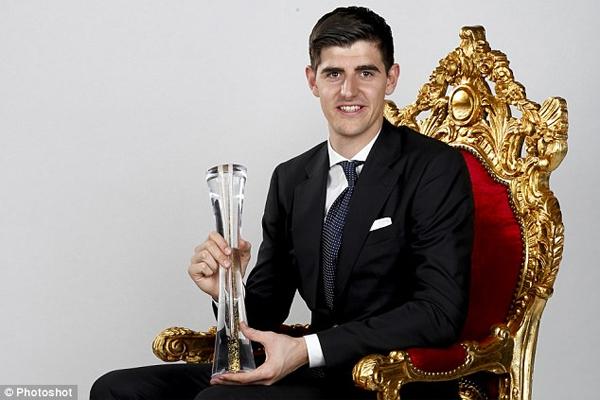 كورتوا يُتّوج بجائزة أفضل رياضي في بلجيكا