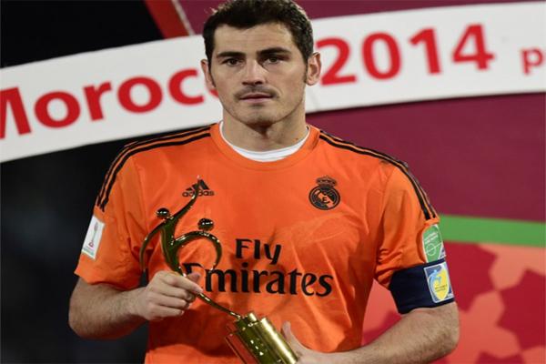 يكر كاسياس، حارس مرمى نادي ريال مدريد الإسباني