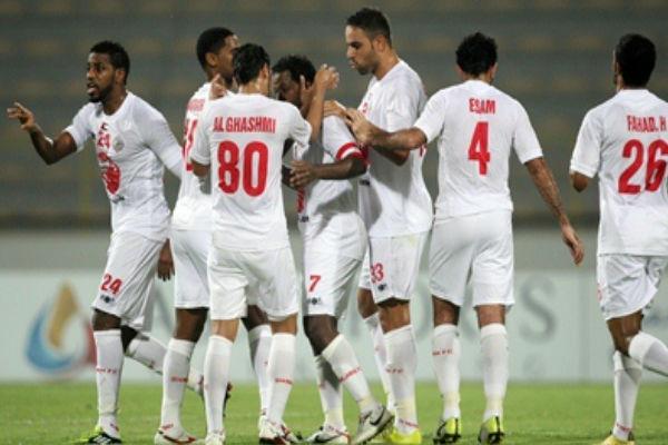 لاعبو الشارقة الإماراتي