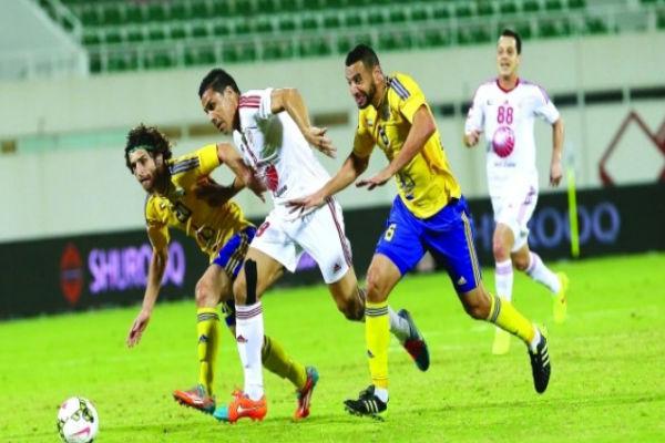 الشارقة لمواصلة الصدارة في كأس الرابطة الإماراتية