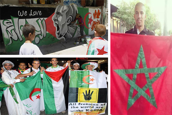 تلاحم العرب مع محاربي الصحراء في البرازيل