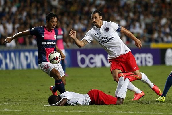 فوز باريس سان جرمان على كيتشه الصيني 6-2 ودياً