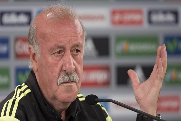 مدرب منتخب اسبانيا لكرة القدم فيسنتي دل بوسكي