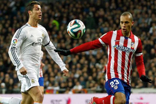 مباراة سابقة بين ريال مدريد والأتلتيكو