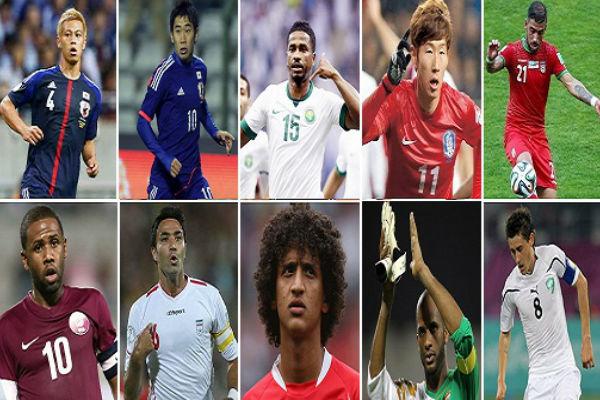 أبرز اللاعبين المتوقع تألقهم في كأس أمم آسيا 2015