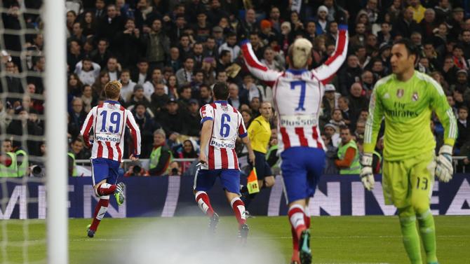 أتلتيكو مدريد تقدم في النتيجة في المناسبتين عن طريق نوريس