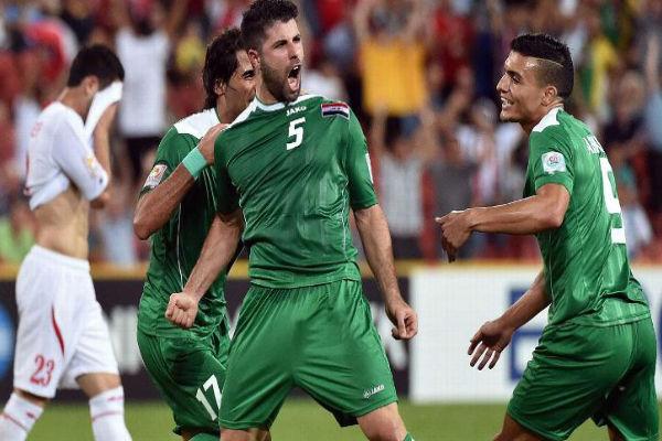 العراق انتزع فوزاُ ثميناً من المنتخب الأردني