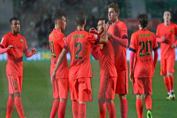 برشلونة يكتسح إلتشي في الإياب برباعية (9/0 في مجموع المباراتين)