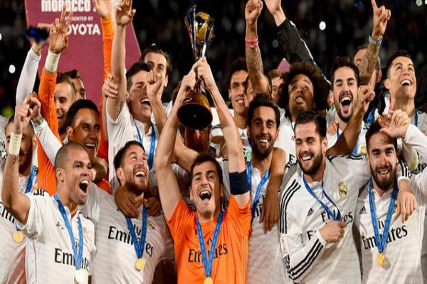 ريال مدريد متوجاً بكأس العالم للأندية في المغرب