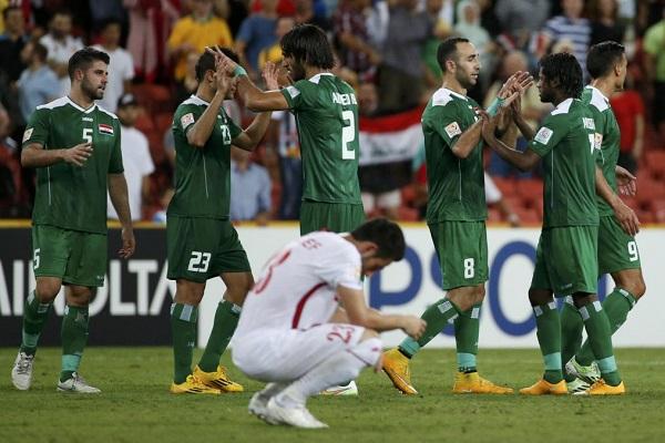 فرحة عراقية بعد الفوز ومدرب الأردن لوم الحظ