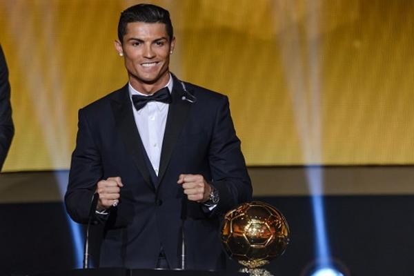 البرتغالي كريستيانو رونالدو مهاجم ريال مدريد