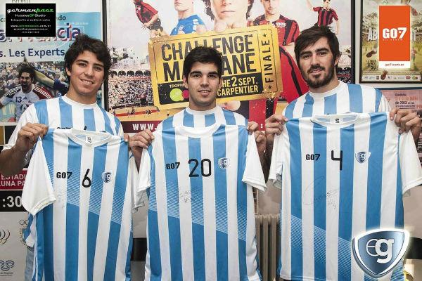 الأخوة الثلاثة في منتخب الأرجنتين بابلو ودييغو وسيباستيان سيمونيت